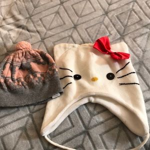 Hello Kitty Beanies (Two for the price of 1)